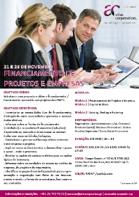 Curso Financiamento de projectos e empresas